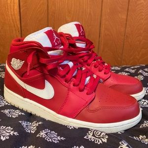 Air Jordan 1 Gym Red/White size 8 men